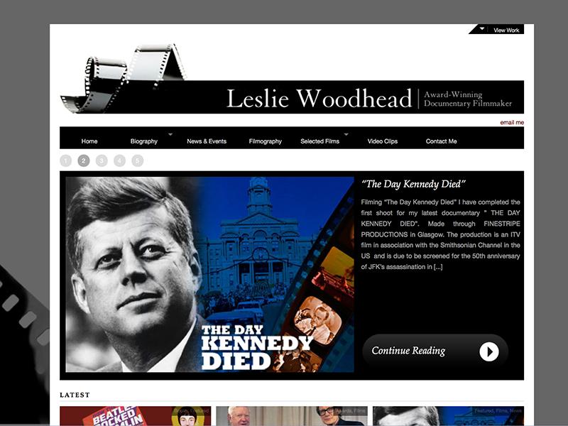 Leslie Woodhead