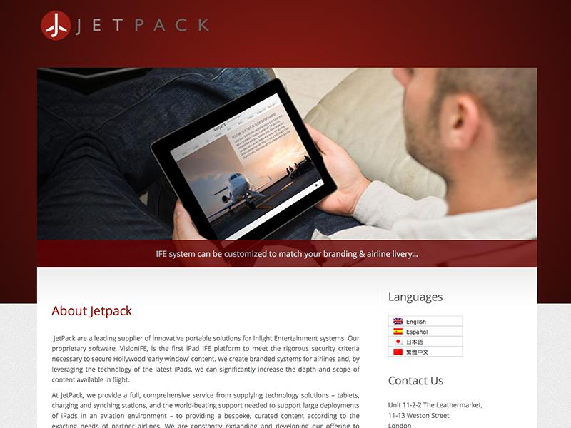 Jetpack IFE